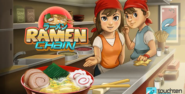 ramen chain - game memasak