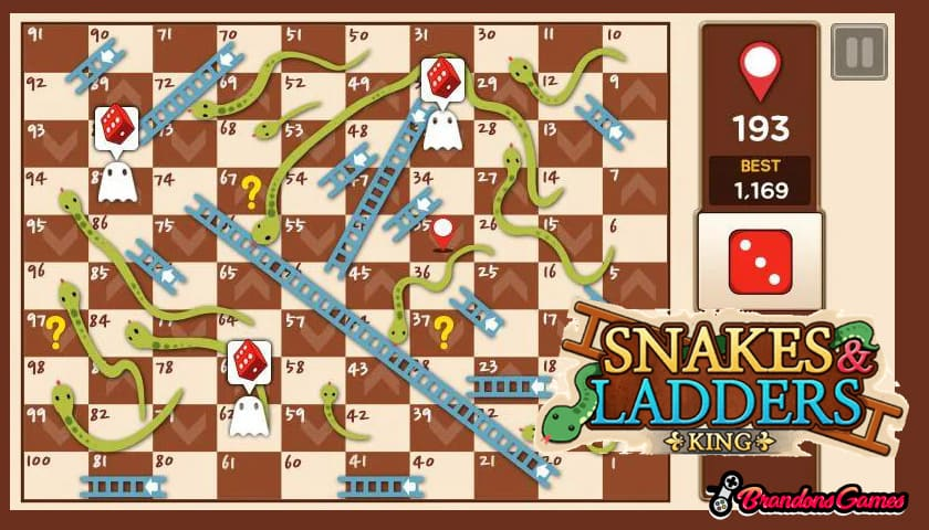 snake and ladder king