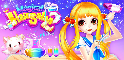 Magical Hair Salon : Girl Makeover - permainan game salon